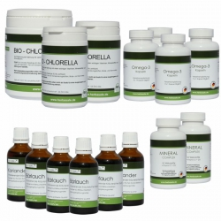 Heavy metal complete package by Dietrich klinghardt + Mineral Complex + Omega 3