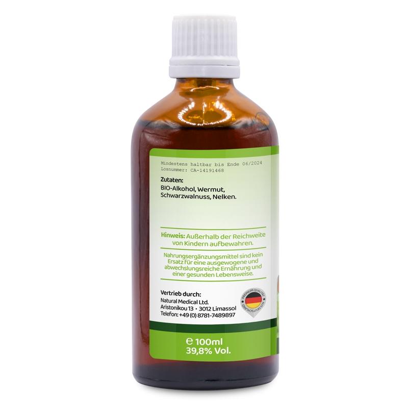 Parasite Cleanse >> Colon Active Tincture By Dr Hulda Clark Parasite Cleanse 100ml