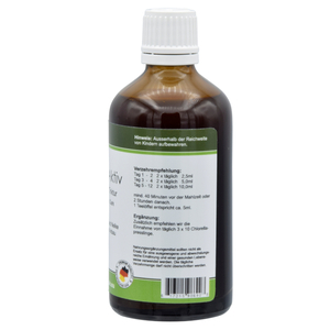 Colon active tincture-  by Dr. Hulda Clark Parasite Cleanse 100ml