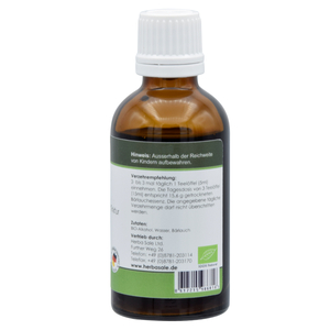 Wild garlic herbal concentrate tincture 50ml
