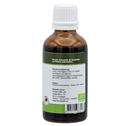 Coriander herbal concentrate tincture 50ml