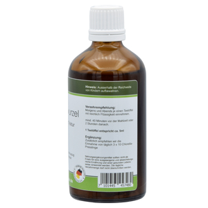 Teasel root herbal concentrate tincture 100ml